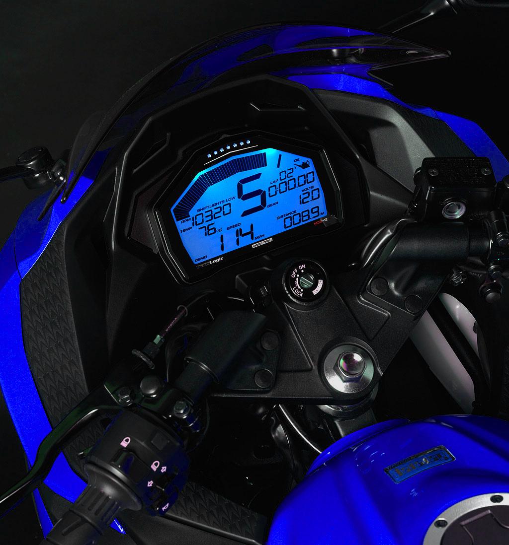 Kawasaki Ninja R Custom Gauges