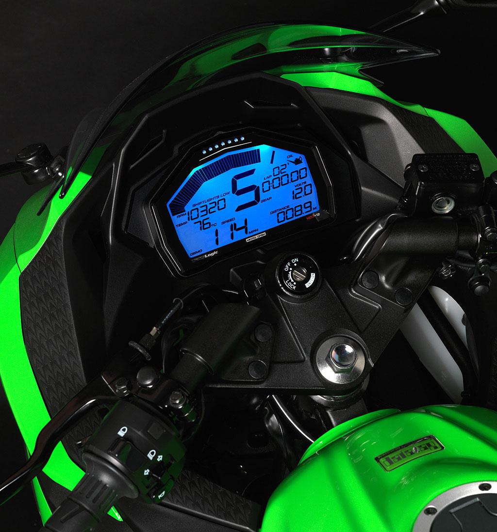 Kawasaki Ninja R Digital Meter